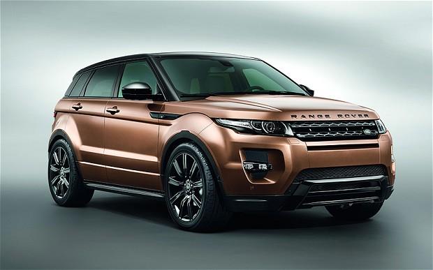 Facelift Range Rover Evoque 2014