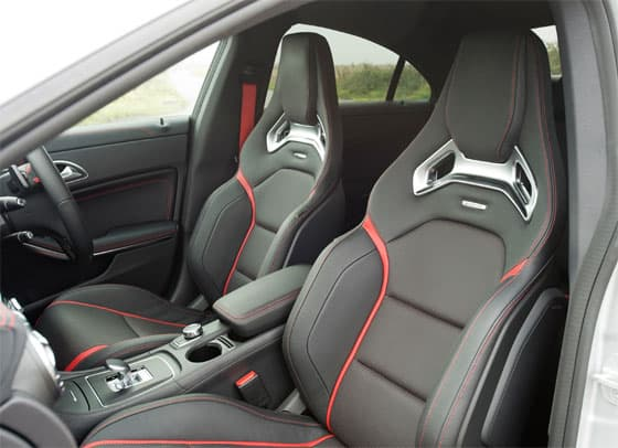 Mercedes-Benz CLA 45 AMG Interior