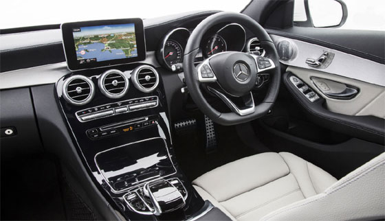 Mercedes-Benz C-Class C220 First Drive Interior