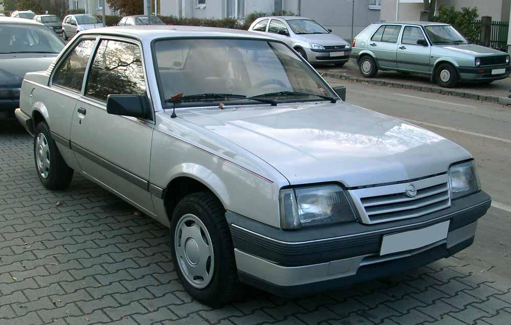 Opel Ascona - Image Credit: Rudolf Stricker