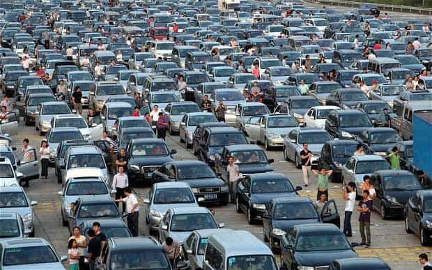 'Carpocalypse' in China, 2015