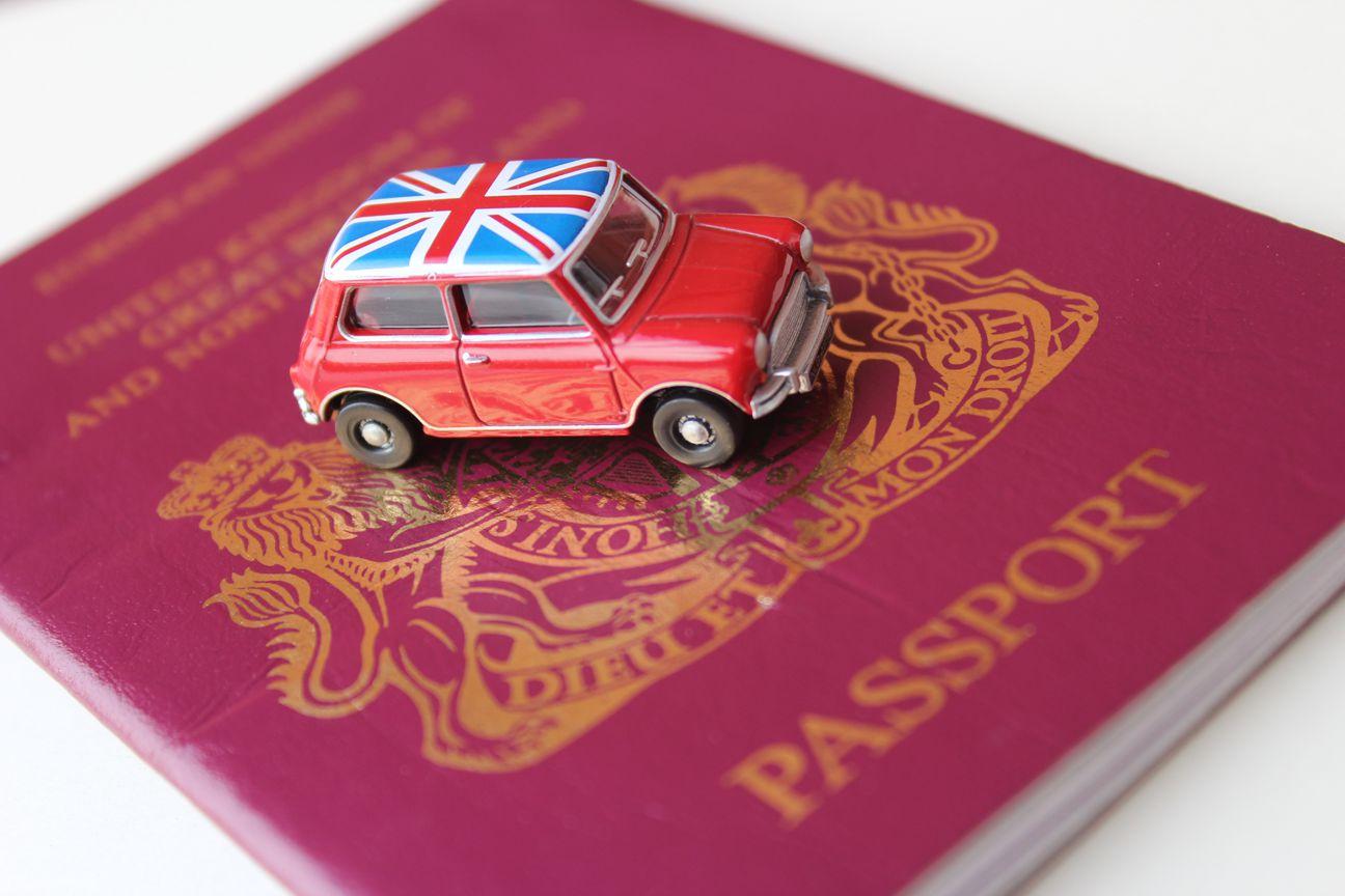 Brexit Passport Union Jack Mini