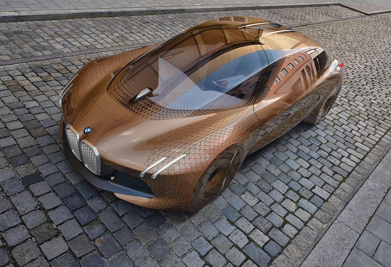 BMW Centenary Concept Car; The Vision Next 100